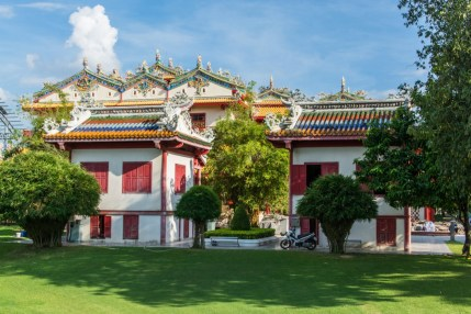 temple chinois - bang pa in - thailande