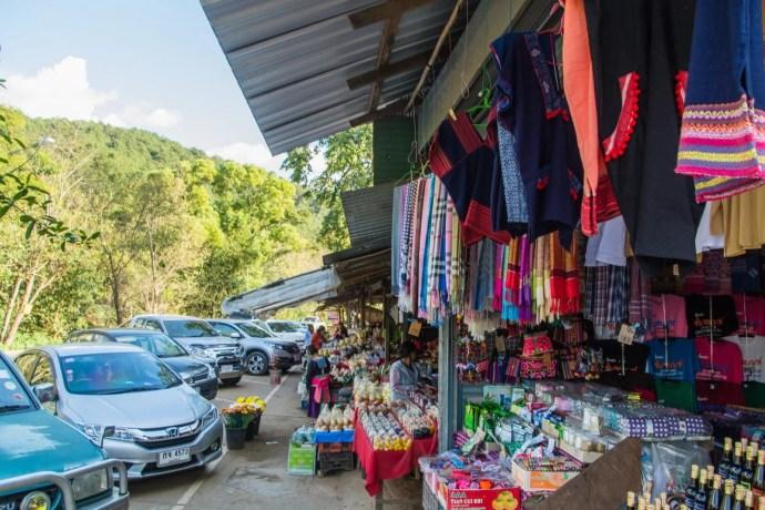 hmong market doi inthanon - chiang mai