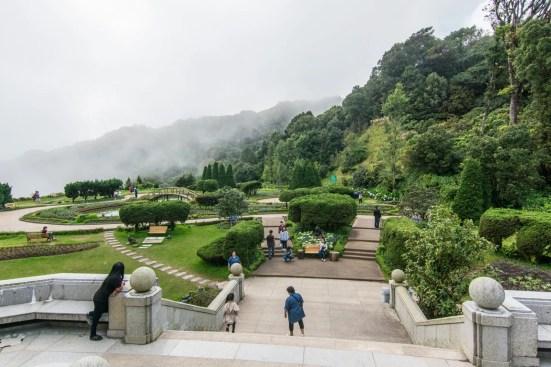 jardin pagodes royales doi inthanon - chiang mai