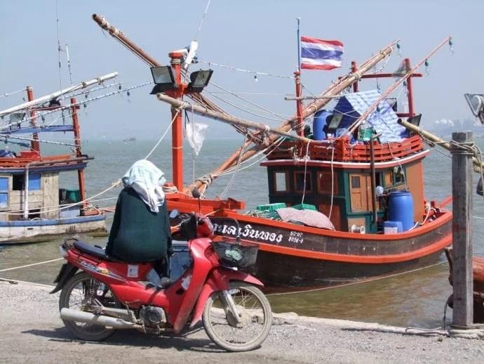 un bateau peche pattaya