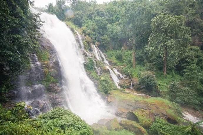wachirathan waterfall doi inthanon - chiang mai