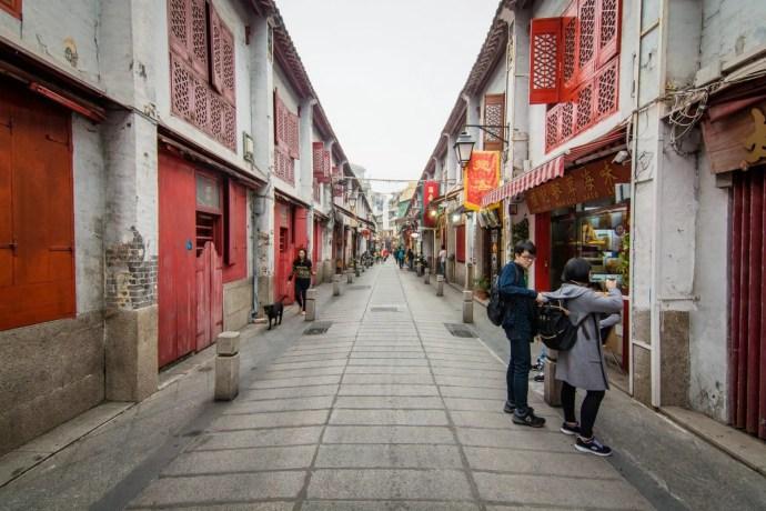 vieille rue da felicidade - macao