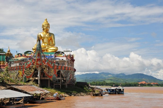 grand bouddha doree triangle d-or - thailande
