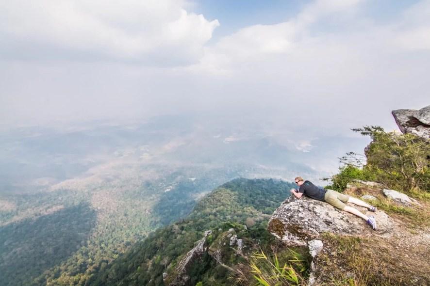 paysage montagne sukhothai fevrier