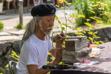 artiste chemin de la philosophie - kyoto