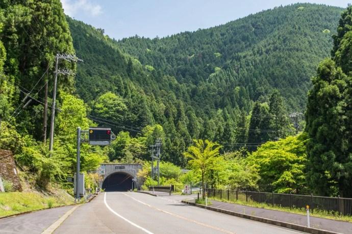 autoroute montagne kyoto japon