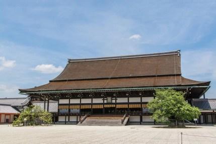 batiment principal palais imperial kyoto