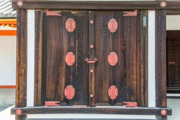 detail porte palais imperial kyoto