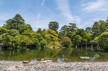 ensemble jardin palais imperial kyoto
