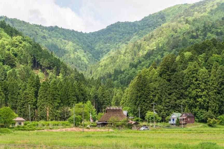 montagne miyama japon