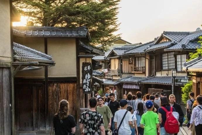ruelle de kyoto vers ninenzaka