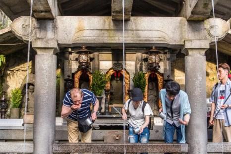 source otawa - temple kiyomizu dera - kyoto