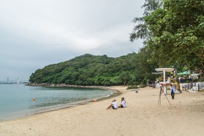 lo so shing beach - lamma island - hong kong