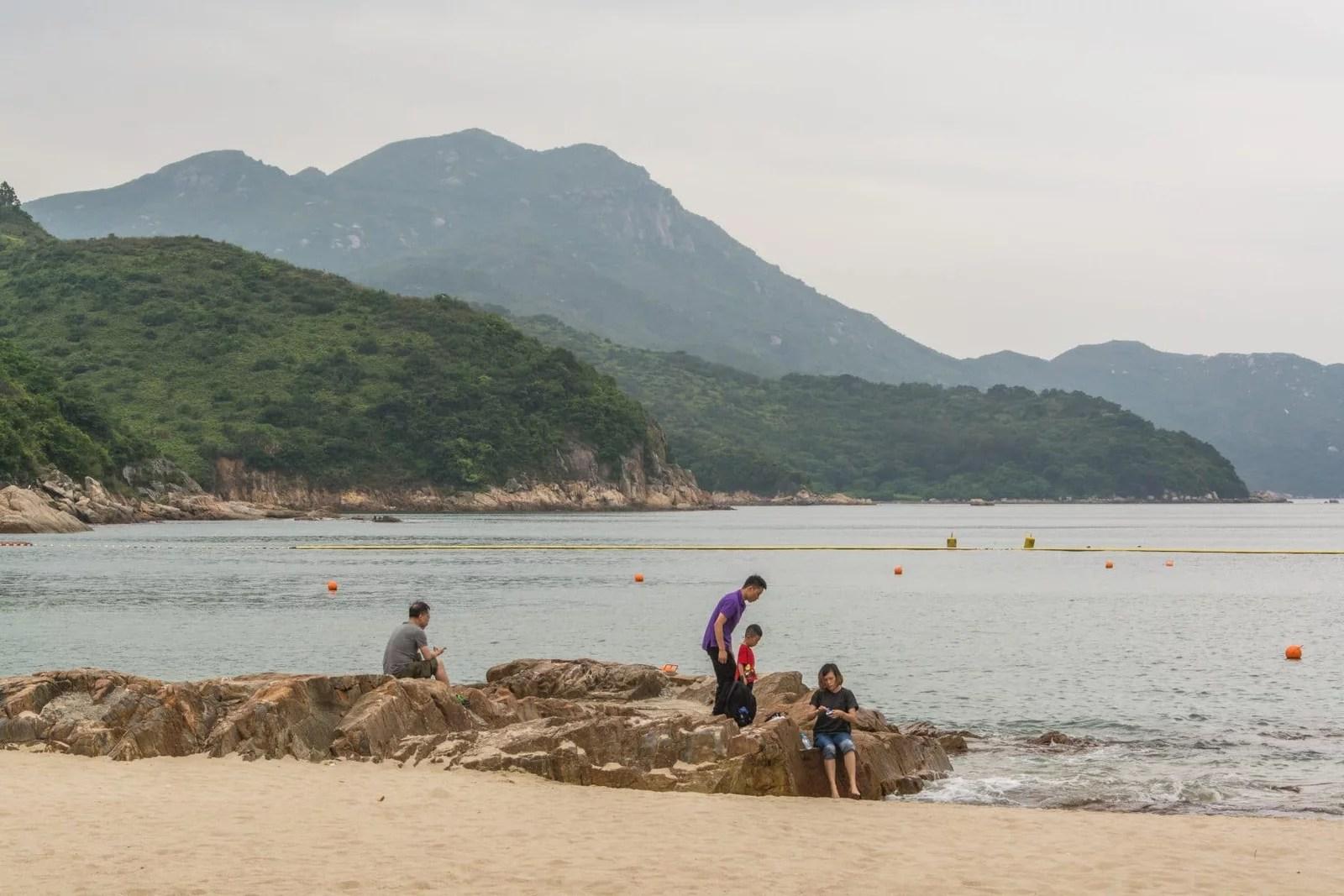 plage hung shing ye - ile lamma - hong kong
