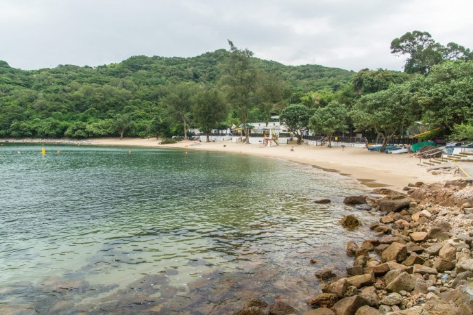 plage lo so shing beach - lamma island - hong kong