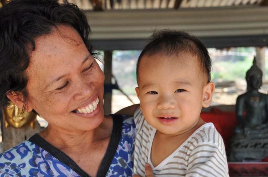 sourires si satchanalai - thailande