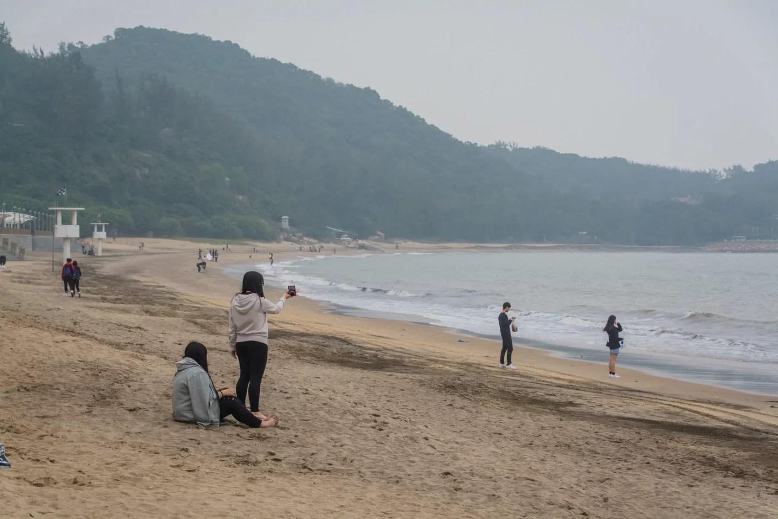 la plage de hac sa - macao