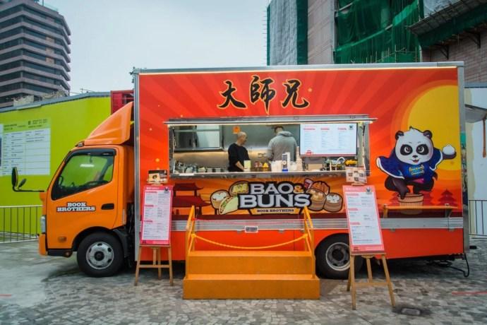 camion bouffe quai kwoloon - hong kong