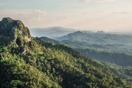 montagne lampang nord thailande
