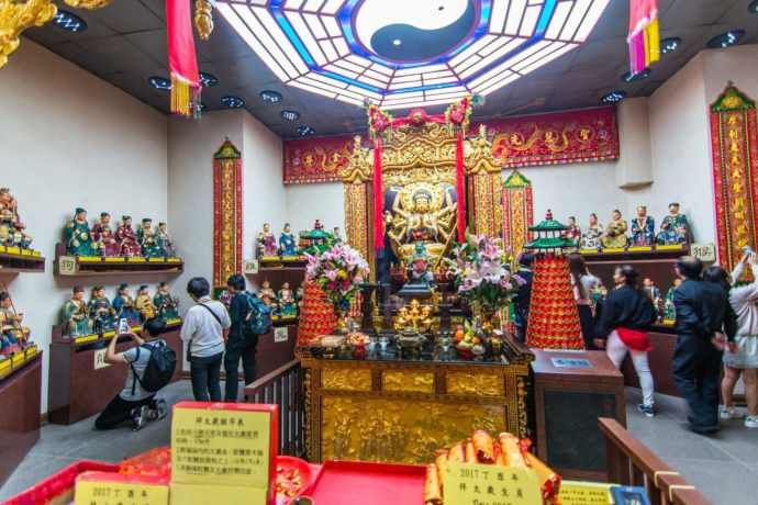 salle secondaire temple che kung - hong kong