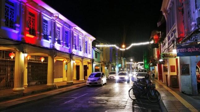thalang road de nuit phuket town