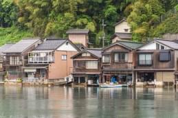maisons funaya village ine - japon