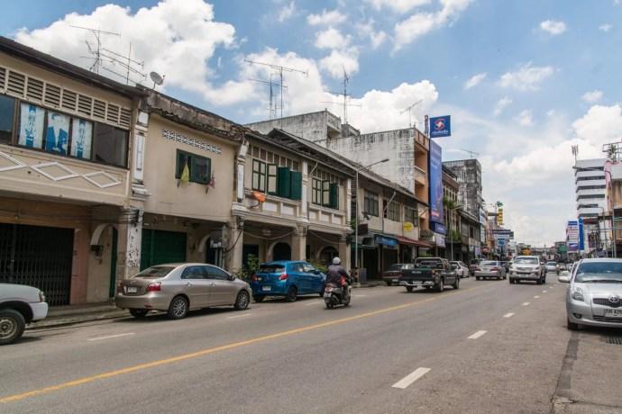 maisons sino portugaise ville trang - thailande
