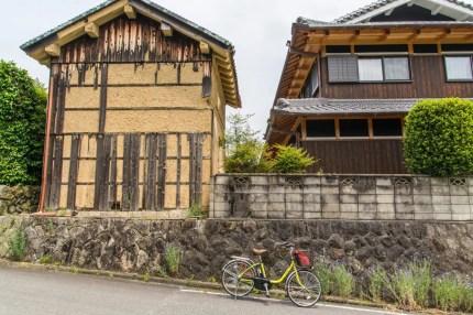 maison typique balade velo plantation thé wazuka - kyoto prefecture japon
