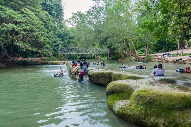 parc national chet sao noi muak mek - khao yai - thailande