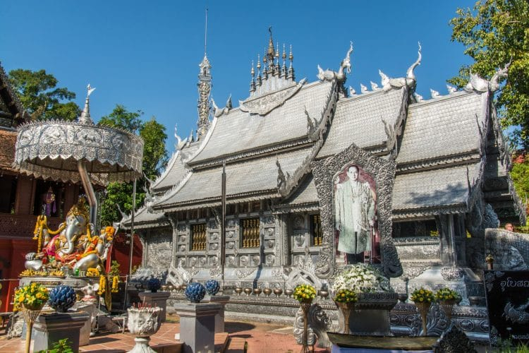 wat si suphan silver temple - chiang mai