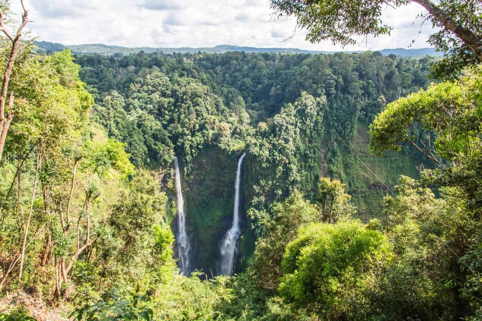 cascade tad fane - plateau boloven - laos