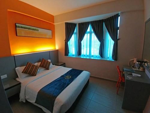 chambre travelland hotel - ipoh - malaisie