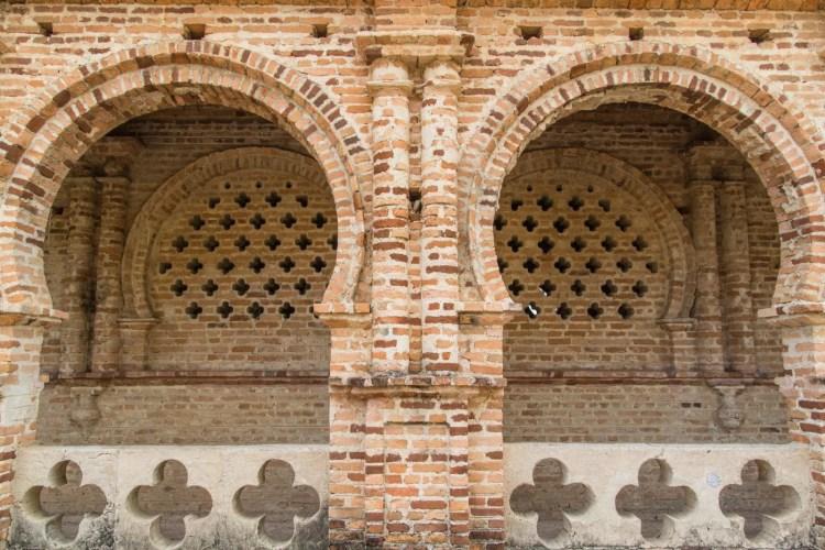 detail arches kellies castle ipoh - malaisie