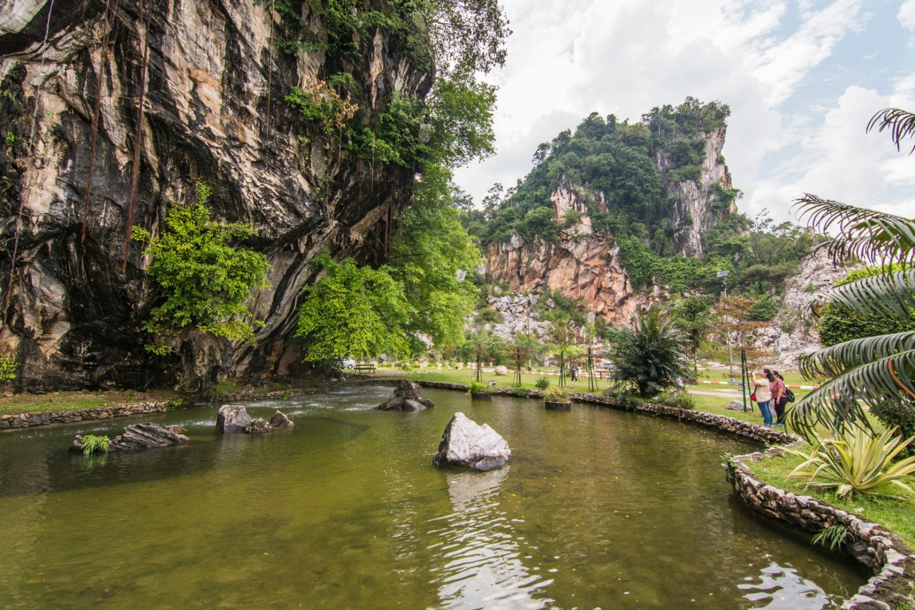 gunung lang recreational park - ipoh - malaisie