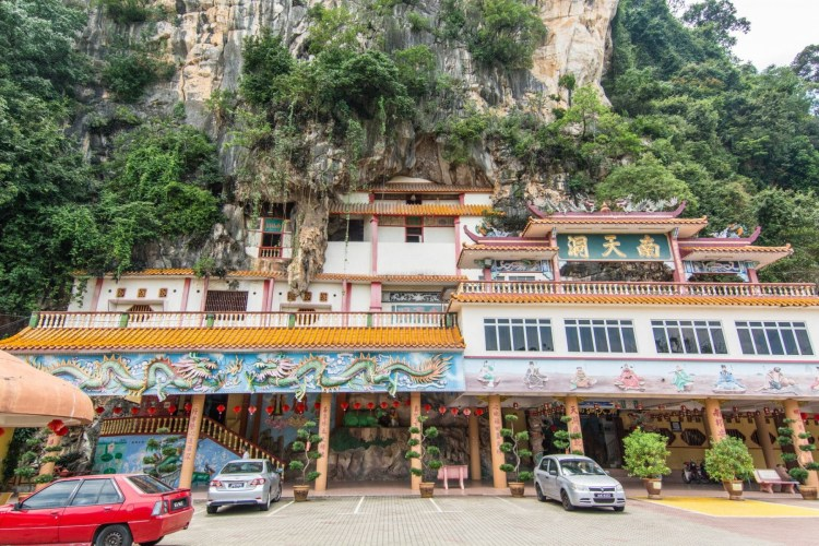 temple bouddhiste nam thean tong ipoh - malaisie