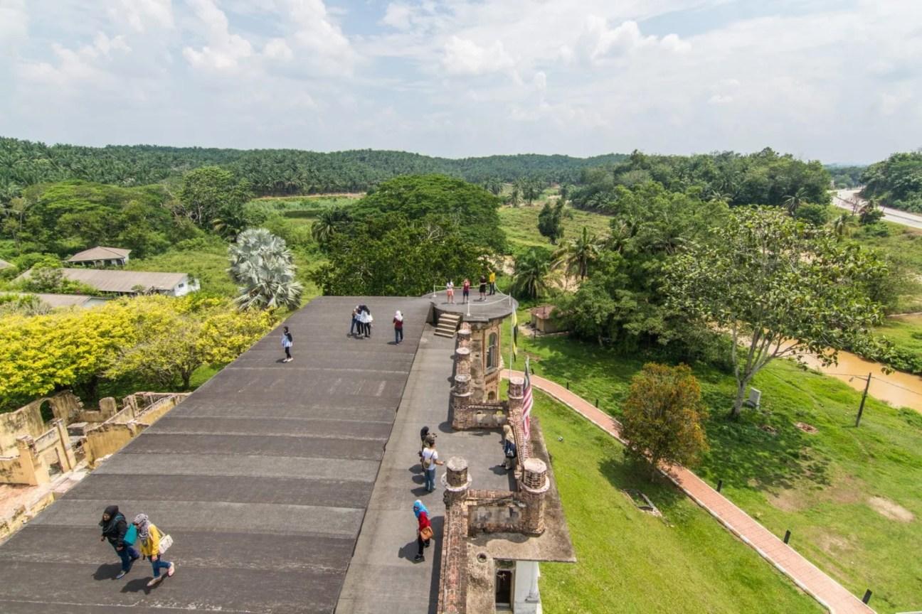 vue toit kellies castle ipoh - malaisie