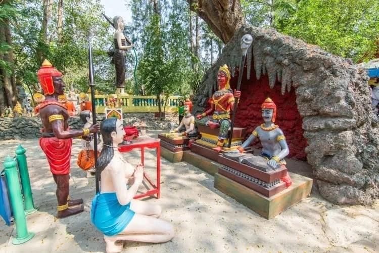 jugement wat muang - ang thong - thailande