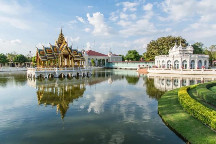 palais bang pa in - ayutthaya - thailande