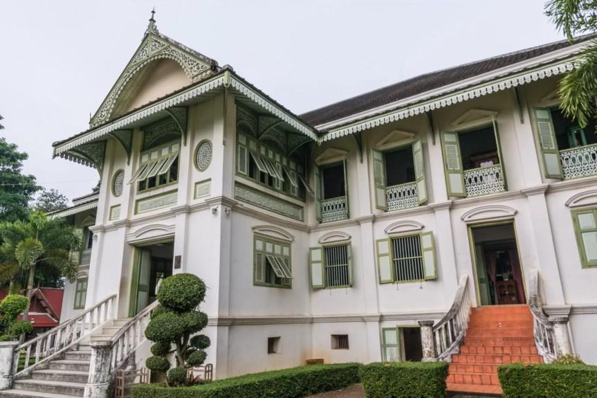 exterieur khum chao luang phrae - thailande