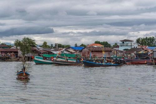 ciel couvert fin octobre kawthaung birmanie