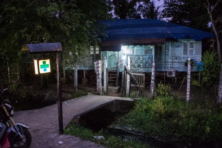 petite clinique locale pathein birmanie