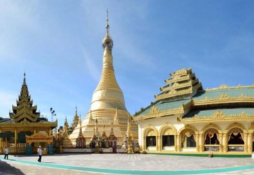 temple birman pathein - myanmar