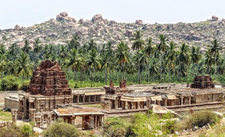 temple achyutaraya Hampi inde