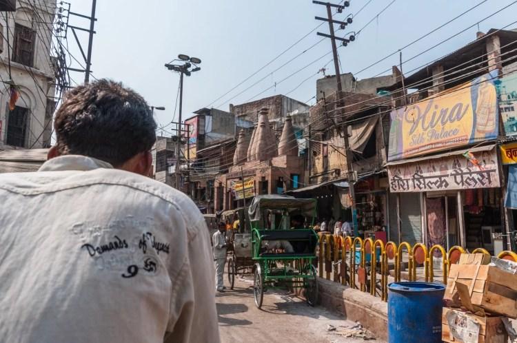 balade rickshaw varanasi inde