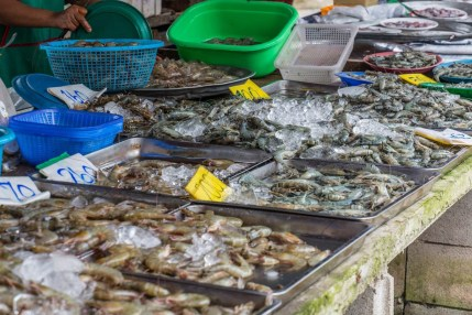 fruits de mer bang niang - khao lak - thailande