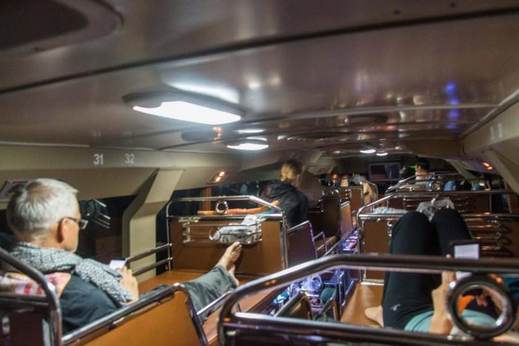 bus de nuit couchette luang prabang - huay xai - laos