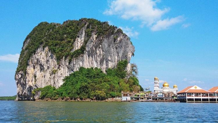 arrivee ko panyi baie phang nga - thailande