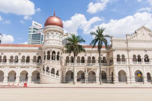 édifice sultan place indépendance kuala lumpur - malaisie