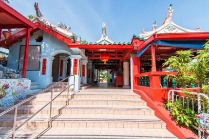 entree temple chinois da bo gong kusu island singapour