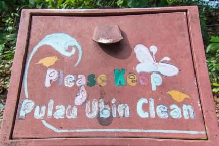 keep clean sensory trail pulau ubin singapour